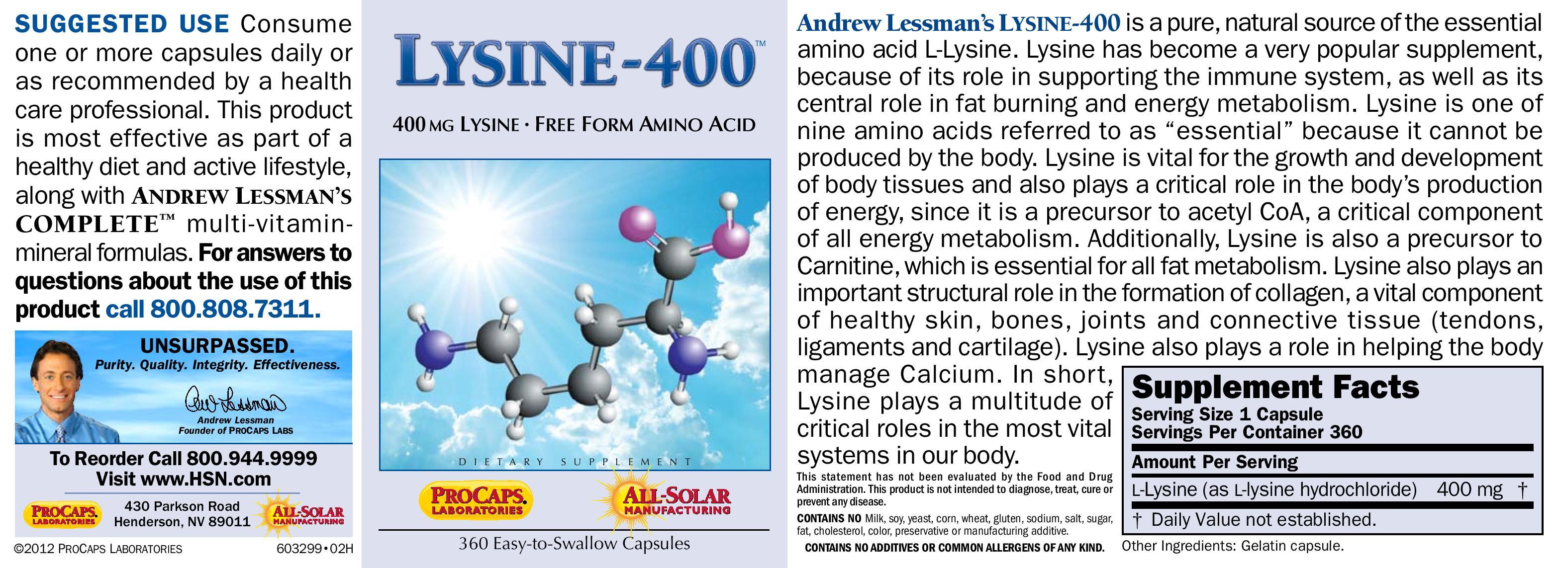 Benefits of taking lysine : Top secret ultra
