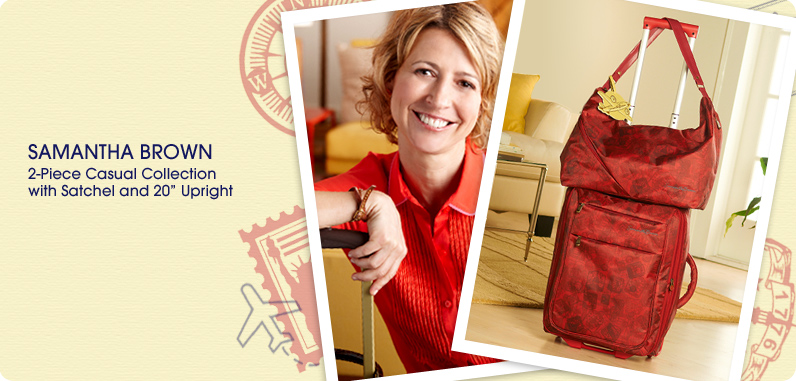 Samantha Brown Luggage Qvc: (HSN) Samantha Brown Luggage Collection