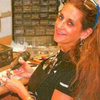 Jewelry designer Amy Kahn Russell