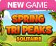 Spring Tri Peaks Solitaire
