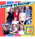 Scrapbook page example, family