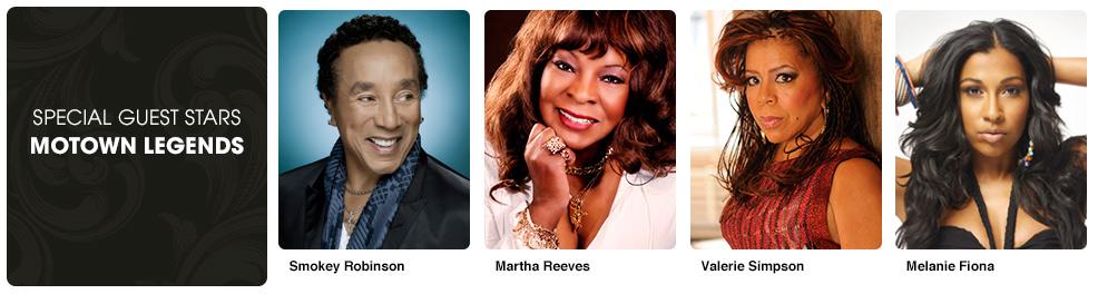 Special Guest Stars - Motown Legends