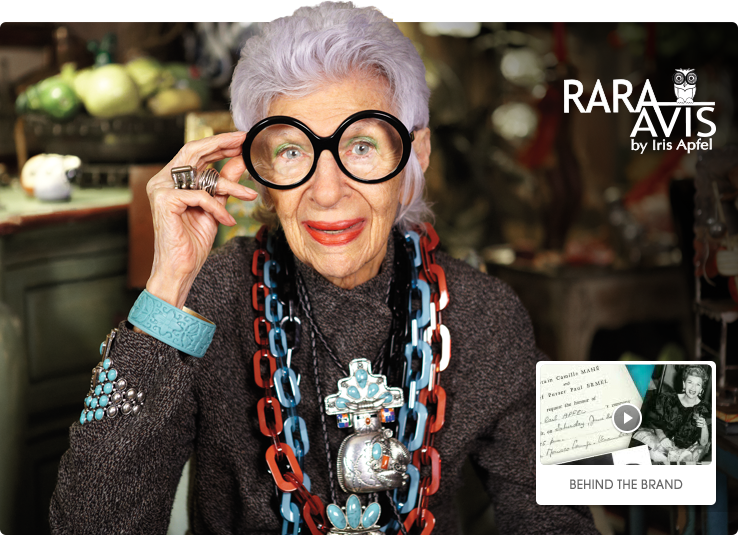 Rara Avis by Iris Apfel