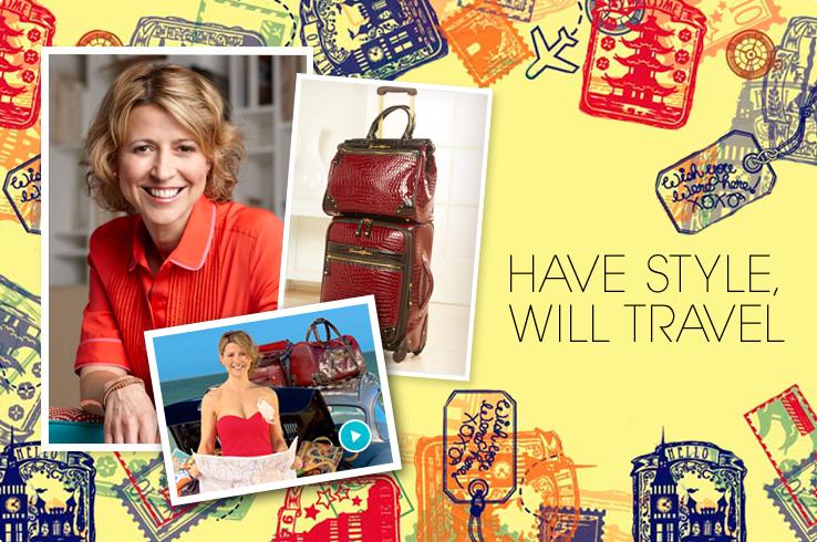 Samantha Brown Luggage Qvc: Samantha Brown Home