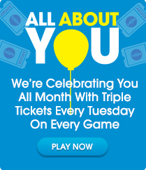 Triple Tickets Tuesday