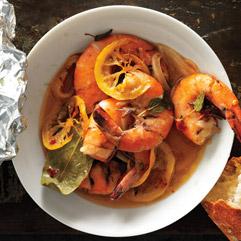 Creole-spiced shrimp