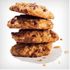 Almond-Cranberry Quinoa Cookies