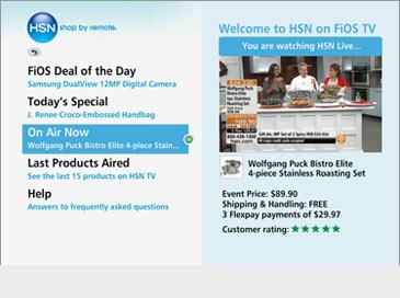HSN Shop by Remote - Verizon