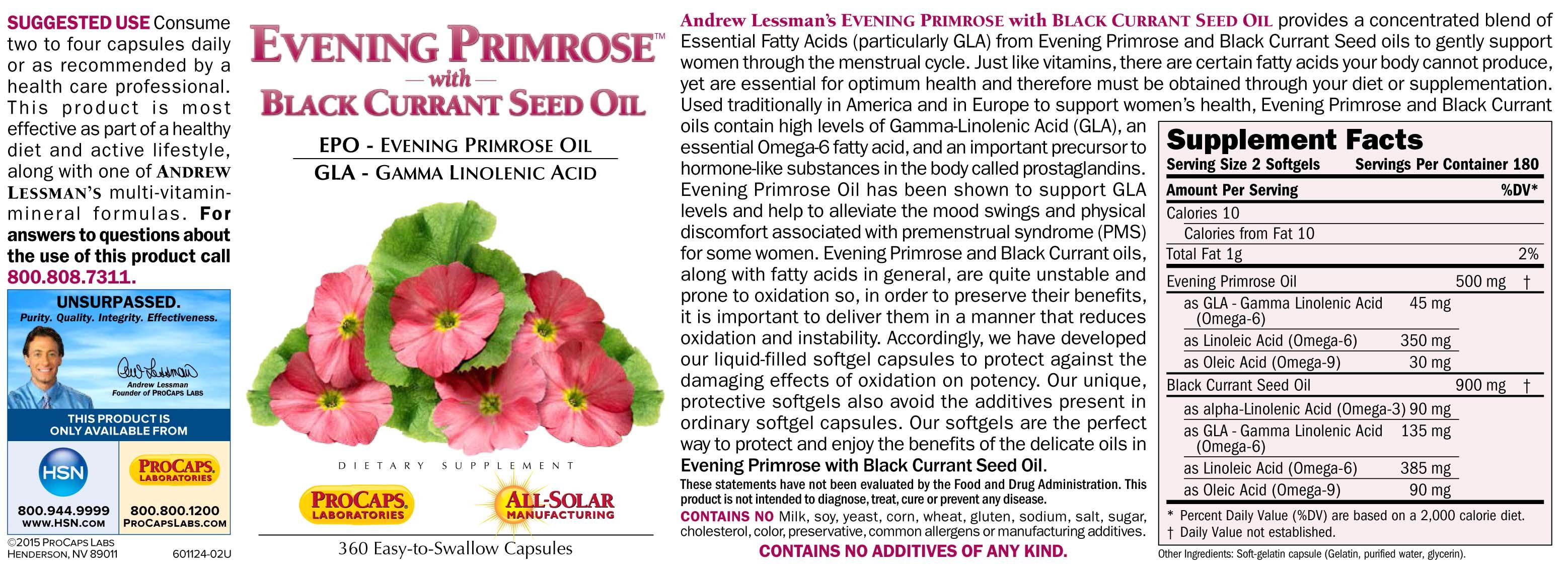 Evening Primrose - 10014259 | HSN