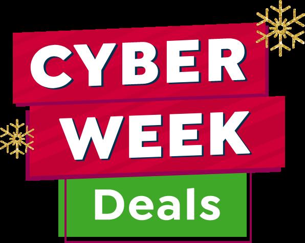 Cyber Week mobile lockup