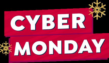 Cyber Monday Lockup