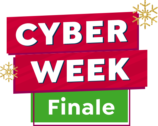 Cyber Week finale mobile lockup