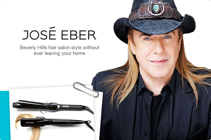 Jose Eber. Beverly Hills hair salon style without ever leaving your home.